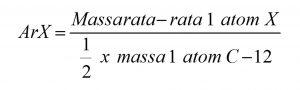 Massa Atom Relatif (Ar)